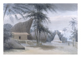 Scene Between Galle and Matura  About Six Miles from Galle  C1801
