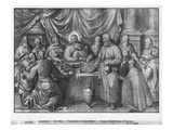 Life of Christ  the Last Supper  Preparatory Study of Tapestry Cartoon
