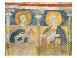 Detail of St John the Evangelist and St Simon (Fresco)