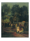 Circus under Trees  1912