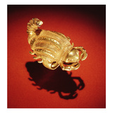 Asante Scorpion Ring  from Ghana (Gold)
