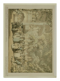 Vauxhall Gardens  C1784 (Wash and W/C with Pen and Brown Ink over Pencil on Paper)