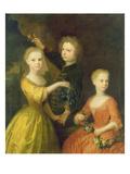 The Children of Councillor Barthold Heinrich Brockes (1680-1747)