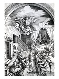 The Birth of the Virgin  from the Cycle of the Life of the Virgin  1511 (Woodcut on Paper)