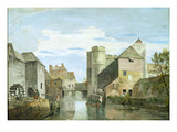 The Westgate  Canterbury (Bodycolour on Paper)