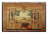 The Month of June/ Chateau of Fontainebleau  from the Series of Tapestries