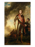 Portrait of Charles Stanhope  3rd Earl of Harrington (1753-1816) 1782 (Oil on Canvas)