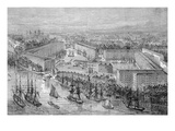 St Katherine's Docks  London  Published in 'The Illustrated London News'  1871 (Engraving)