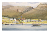 The Admiral House  Simon's Town  Cape of Good Hope  1844 (W/C on Paper)