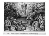Life of Christ  Ascension  Preparatory Study of Tapestry Cartoon for Church Saint-Merri in Paris