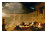Belshazzar&#39;s Feast (Oil on Canvas)
