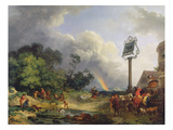 The Rainbow  1784 (Oil on Canvas)