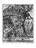 Life of Christ  Christ's Descent into Limbo  Preparatory Study of Tapestry Cartoon