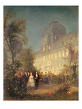 Evening Party at the Tuileries  10th June 1867 (Oil on Canvas)