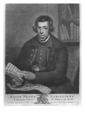 Major Peter Labilliere  Etched by Henry Kingsbury  1780 (Etching and Mezzotint)