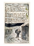 The Chimney Sweeper'  Plate 41 (Bentley 37) from 'Songs of Innocence and of Experience'
