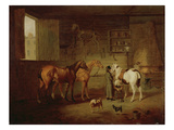 The Blacksmith's Shop  C1810-20 (Oil on Canvas)