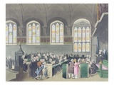 Court of Chancery  Lincoln&#39;s Inn Hall  Engraved by Constantine Stadler (Fl1780-1812)  1808