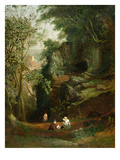 Landscape Near Clifton  C1822-23 (Oil on Canvas)