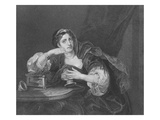 Sigismonda with the Heart of Her Husband  Engraved by TW Shaw  from 'The Works of Hogarth'