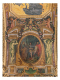 Judicial Reformation in 1667  Ceiling Painting from the Galerie Des Glaces