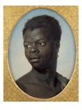 Portrait of a Young Negro  C1751 (Pastel on Paper)