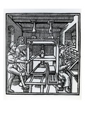 Printing Press (Woodcut)