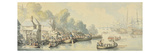 Embarkation at Southampton on 20th June after Lord Howe's Action - Version B  C1794