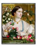 Grace Rose  1866 (Oil on Panel)
