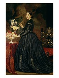 Mrs James Guthrie  c1864-5