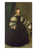 Lady of the Medinaceli Family  C1683 (Oil on Canvas)