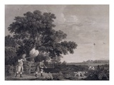 Shooting  Plate 3  Engraved by William Woollett (1735-85) 1770 (Engraving with Etching)