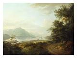 Loch Awe  Argyllshire  c1780-1800