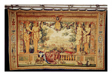 The Month of September/ Chateau of Chambord  from the Series of Tapestries