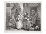 A Harlot's Progress  Plate I  from the 'Original and Genuine Works of William Hogarth'