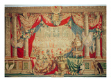 The Month of February  from the Series of Tapestries &#39;The Months or Royal Residences&#39;