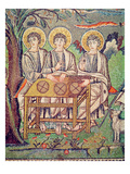 The Three Angels  Detail of the Hospitality of Abraham and the Sacrifice of Isaac  6th Century