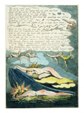 The Shrill Winds Wake'  Plate 5 from 'Europe a Prophecy'  1794
