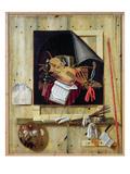 Trompe L'Oeil Still Life  1665