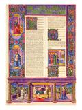 Fol157V Second Gospel of Luke  from the Borso D'Este Bible Vol 2 (Vellum)