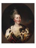 Portrait of Catherine Ii  1782