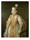 Anne of Austria (1549-80) Queen of Spain  C1571 (Oil on Canvas)
