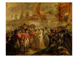 The Surrender of the Two Sons of Tipu Sahib (1749-99)  Sultan of Mysore  to Sir David Baird  C1800