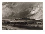 Old Sarum  Engraved by David Lucas (1802-81) C1829 (Mezzotint)
