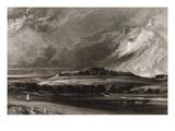 Old Sarum  Engraved by David Lucas (1802-81) C1829 (Mezzotint)