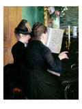 The Piano Lesson  1881 (Oil on Canvas)