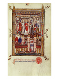 Fr 2092 F1 the First Interrogation of St Denis and His Companions by Sisinnius