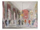 Drawing Room  St James's  Engraved by John Bluck (Fl1791-1819)