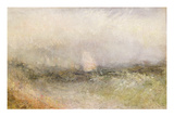 Off the Nore: Wind and Water  1840-5 (Oil on Paper Laid Down on Canvas)
