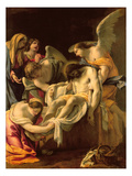 The Entombment (Oil on Panel)